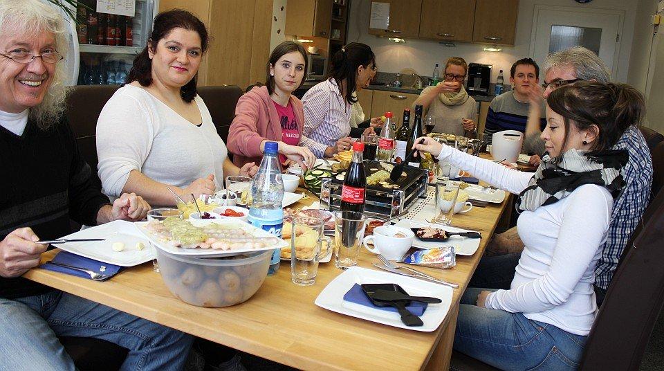 Raclette-Essen ADICOR