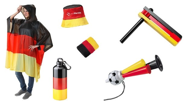 Fanartikel zur Fussball Weltmeisterschaft 2014