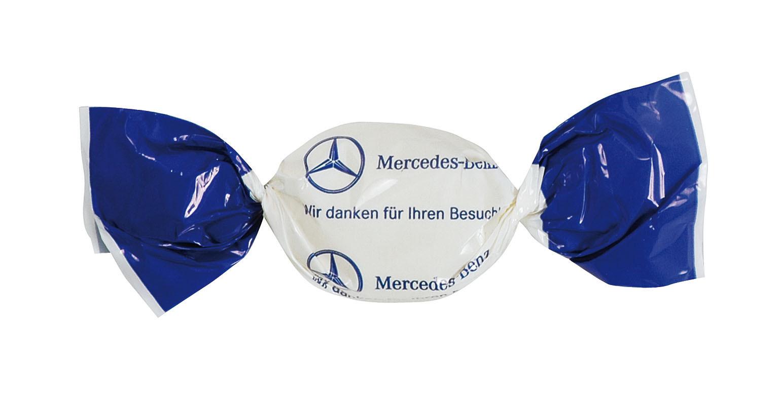 Werbegeschenk für Autohändler - Bonbons