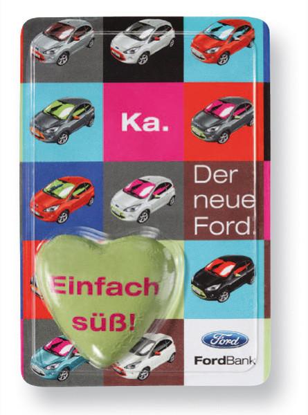 Werbegeschenk für Autohäuser - Sweet-Card