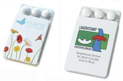 Werbeartikel Mentos Gum, zuckerfrei - www.werbung-schenken.de