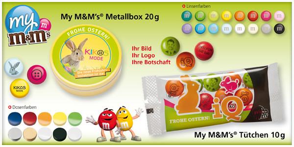 Werbeartikel Ostern - M&M's