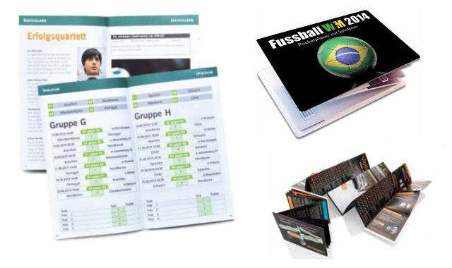 WM Taschenplaner zur Fussball WM 2014