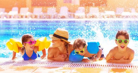Sommer Werbeartikel für Schwimmbäder