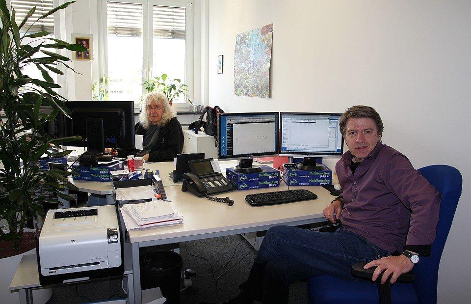 ADICOR Büro: IT- Administration und Online Redaktion