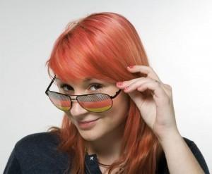 Werbeartikel Fan-Sonnenbrille