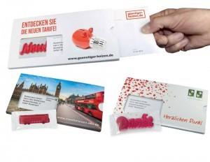 Fruchtgummi als Mailing-Verstärker