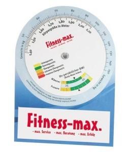 Werbeartikel - BMI Rechner