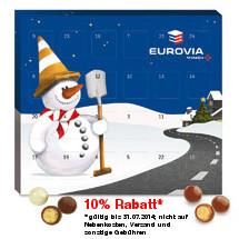 Werbeartikel XS Adventskalender Brandt