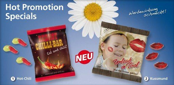 Grafik Werbeartikel Hot-Chili Küssmund