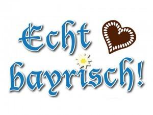 Grafik Echt bayrisch