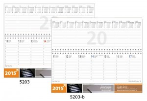 Werbeartikel Kalender Business-Premium 2015