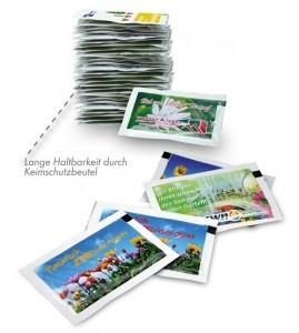 Grafik Werbeartikel Samen-Briefchen