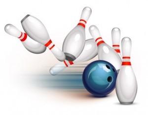 Grafik Motiv Bowling