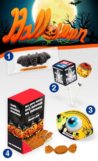Grafik Werbeartikel Halloween