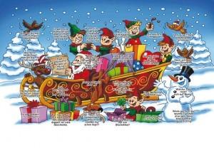 Grafik Werbeartikel Weihnachtskalender