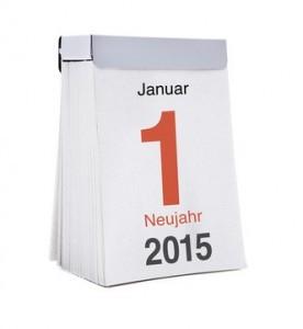 Grafik Abreißkalender 2015