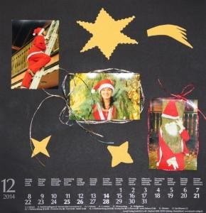 Wandkalender Dezember 2014