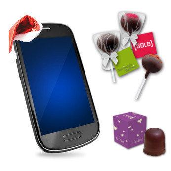 Werbeartikel Smartphone Weihnachten