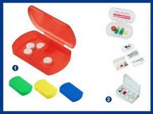 Werbeartikel Krankenkassen Pillendosen