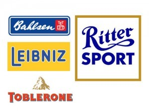 Werbeartikel Marken Bahlsen, Leibniz, Toblerone, Ritter