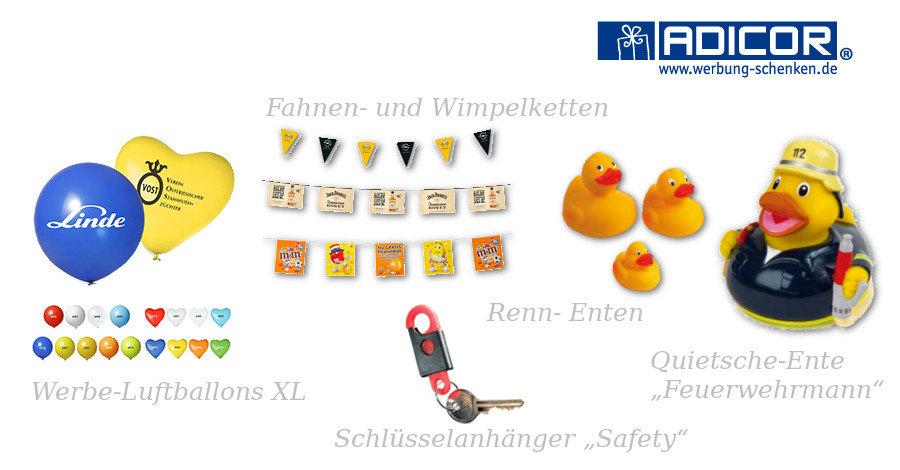 Werbeartikel Feuerwehr - www.werbung-schenken.de