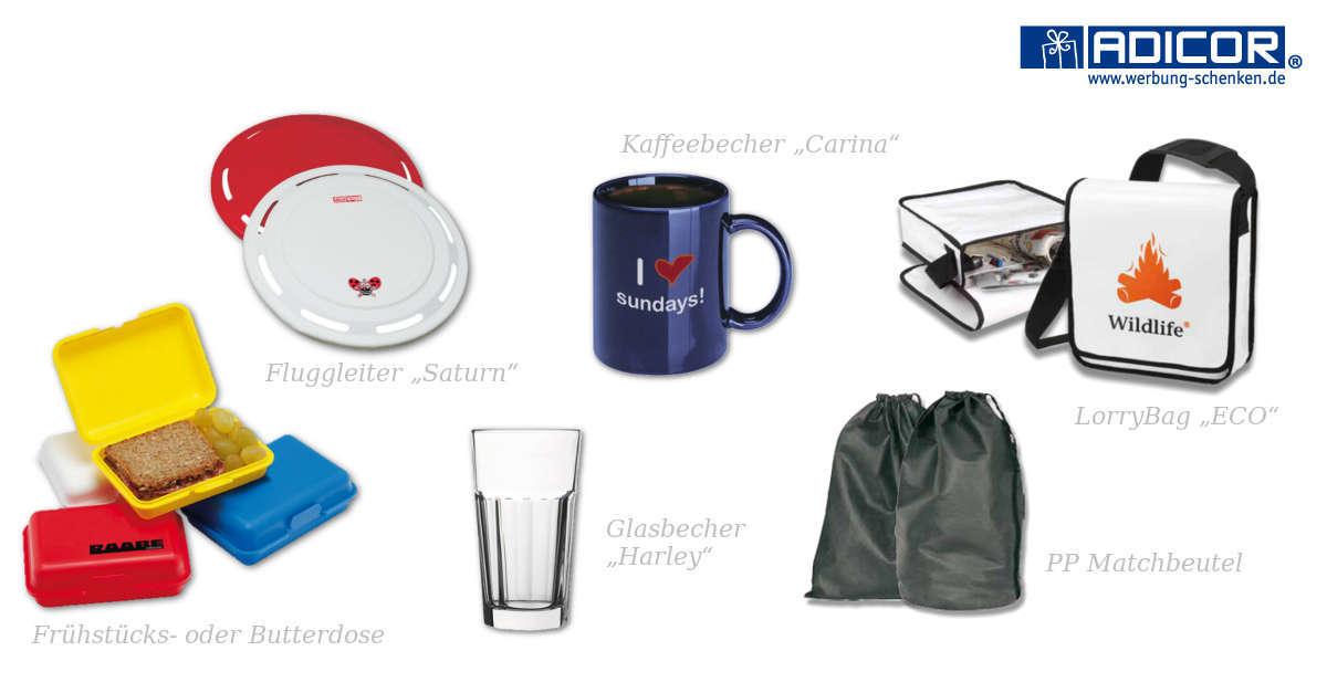 Produktmotiv Werbeartikel Jugenherberge