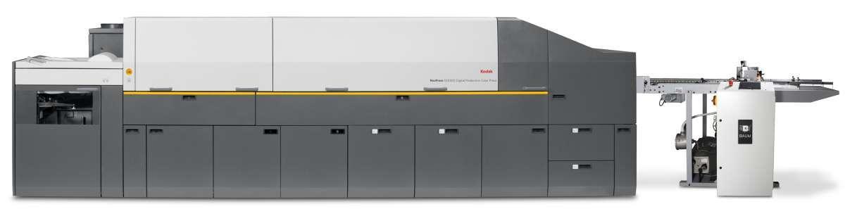 Kodak Digitaldruckmaschine