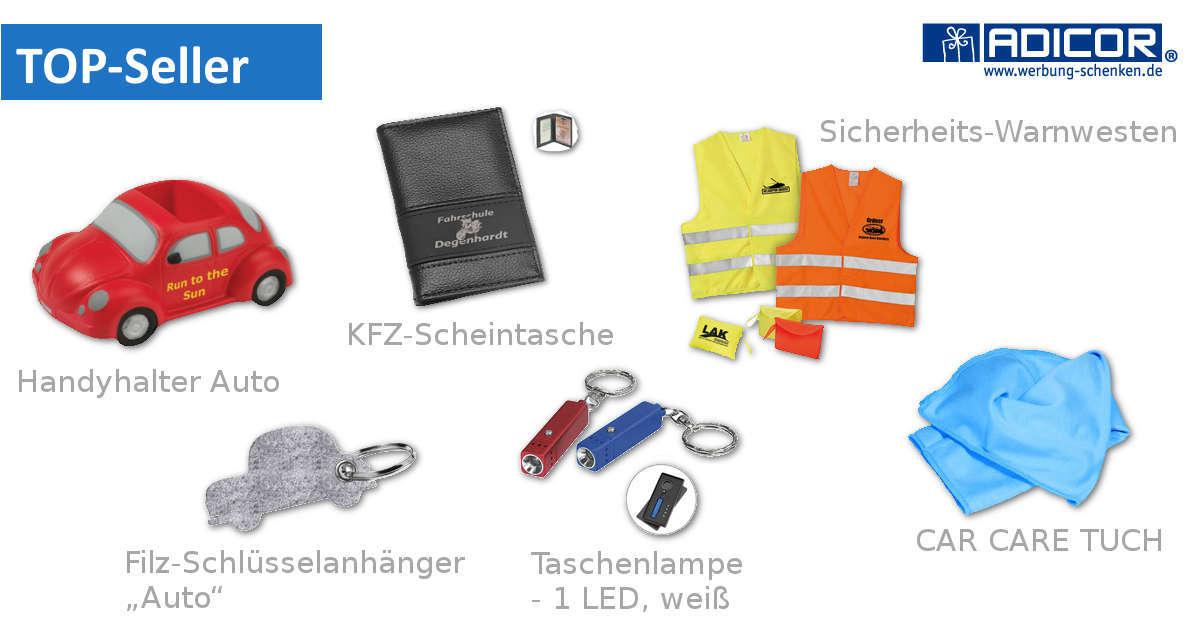 Werbeartikel Fahrschulen - www.werbung-schenken.de
