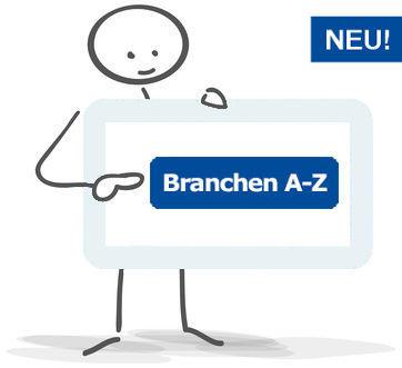 Teaser Branchen-AZ - www.werbung-schenken.de
