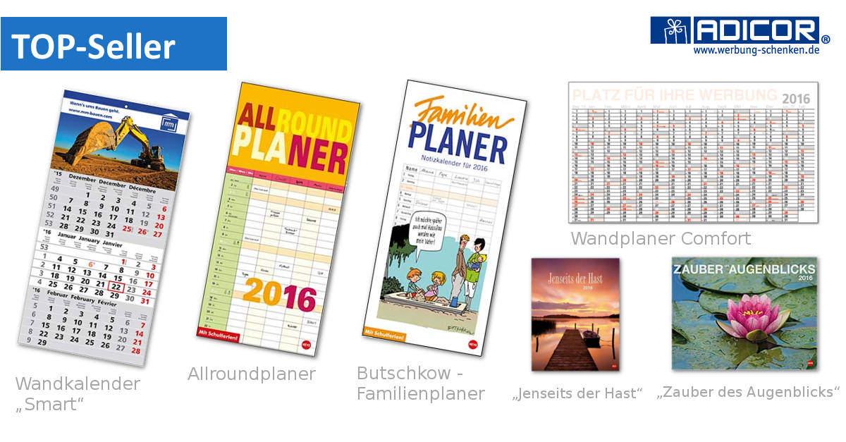 Werbeartikel Kalender - www.werbung-schenken.de