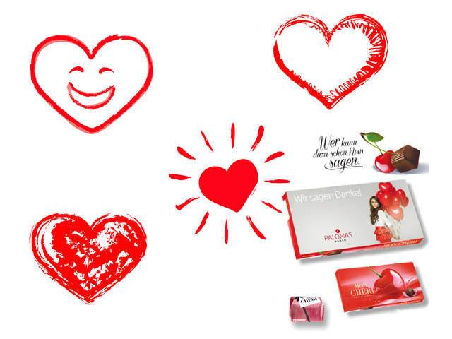 Sie kommen von Herzen: Werbegeschenke zum Valentinstag