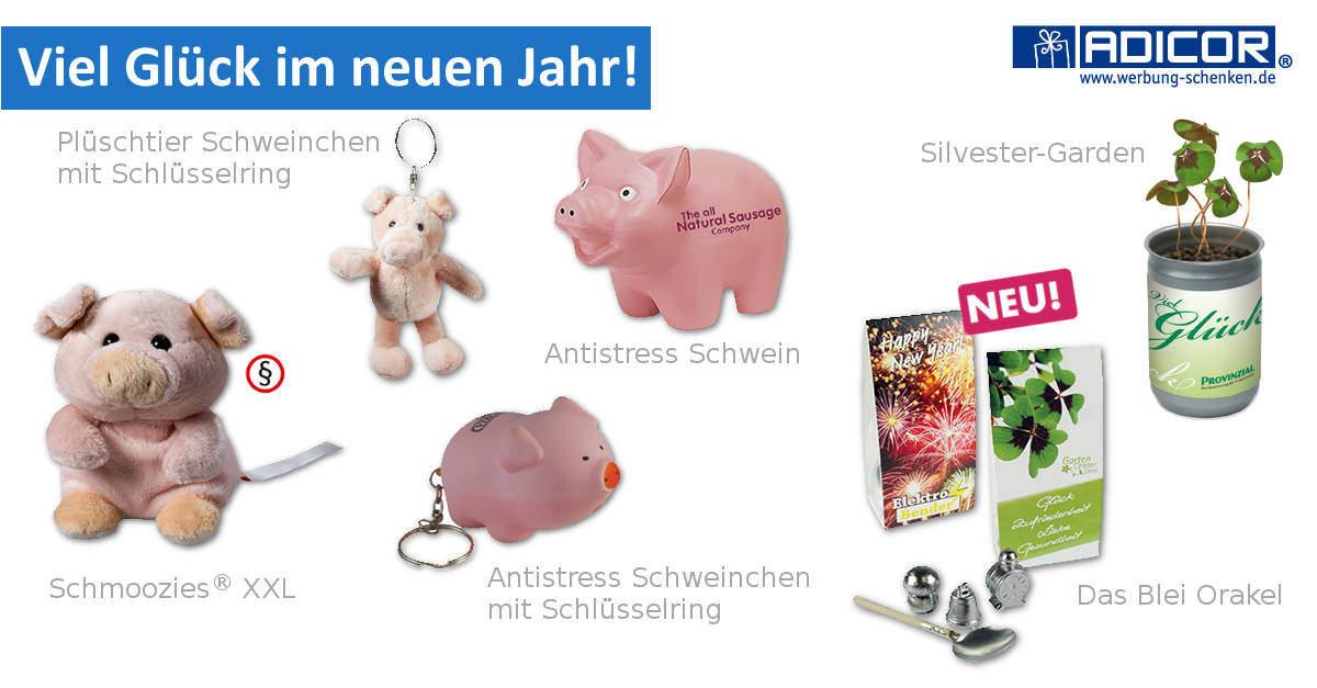 Werbeartikel Neujahr 2016 - www.werbung-schenken.de