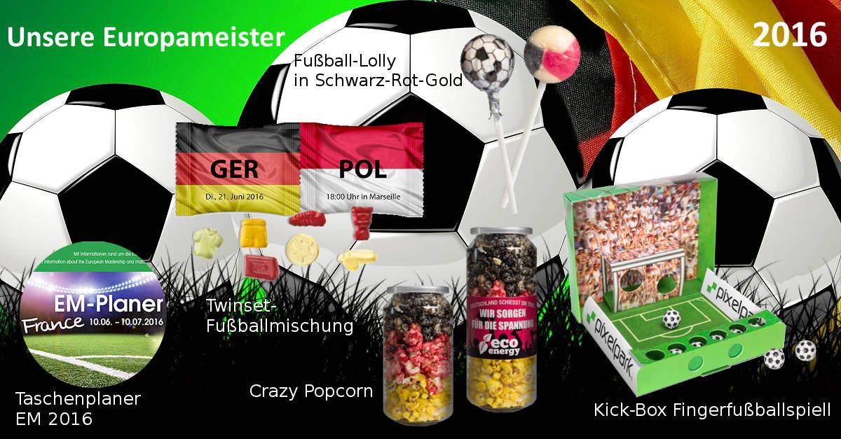 Werbeartikel zu Europameisterschaft 2016 - www.werbung-schenken.de