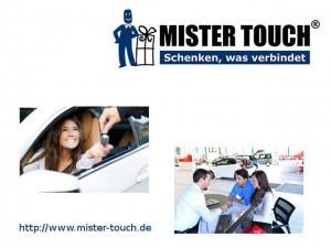 Werbeartikel Portal Mister Touch - www.werbung-schenken.de