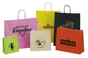 Werbeartiekl Papiertasche Komfort Color - ww.werbung-schenken.de