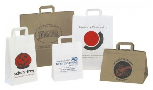 Werbeartiekl Papiertasche Standard - www.werbung-schenken.de