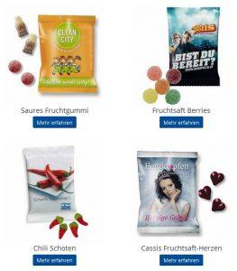 Werbeartikel Fruchtgummi bedrucken - www.werbung-schenken.de