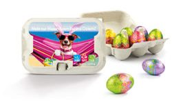 Werbeartikel Oster-Sixpack - www.werbung-schenken.de