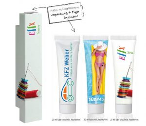 Werbeartikel Sonnenmilch Tube LSF 30 - www.werbung-schenken.de
