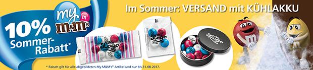 Werbeartikel my m&m's - www.werbung-schenken.de