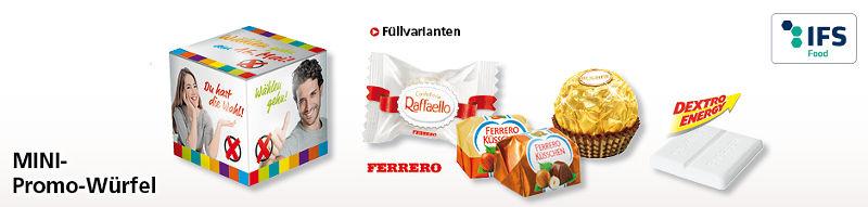 Werbeartikel Mini Promo-Wuerfel - www.werbung-schenken.de