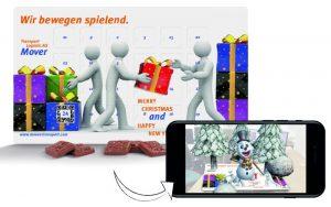 Werbeartikel Augmented Reality Adventskalender - www.werbung-schenken.de