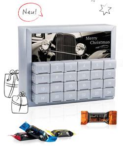 Werbeartikel Adventskalender Exquisit Lindt - www.werbung-schenken.de