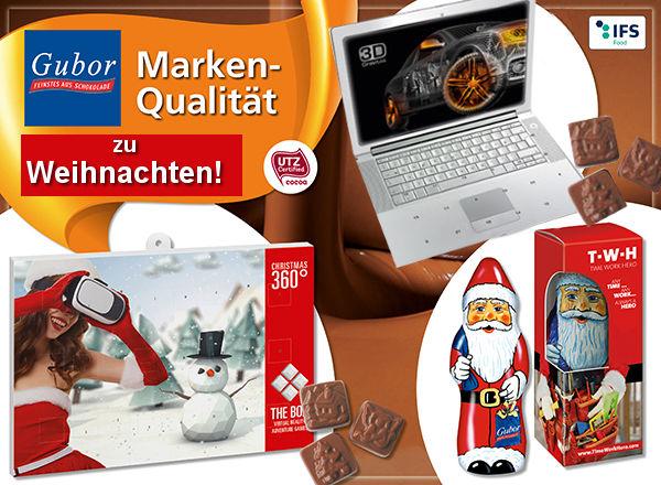 Gubor Marken Werbeartikel zu Weihnachten 2017 - www.werbung-schenken.de