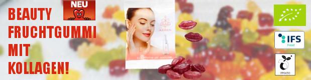 Teaser Werbeartikel Beauty Fruchtgummi mit Kollagen - www.werbung-schenken.de