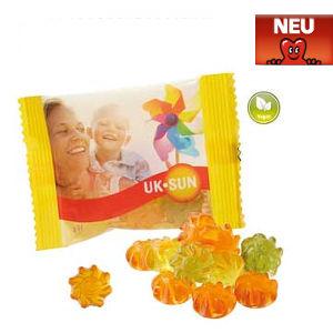 Werbeartikel veganes Wohlfühlfruchtgummi mit Aloe Vera - www.werbung-schenken.de