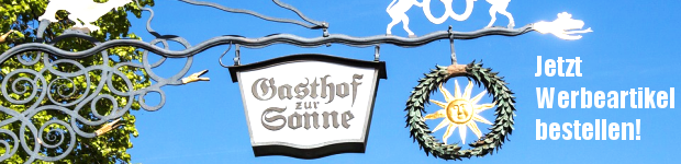 Teaser Werbeartikel Hotels, Pensionen, Gasthof - www.werbung-schenken.de
