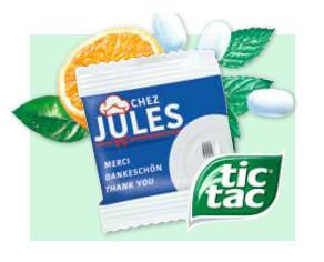 Werbeartikel tic-tac® FRESH MINTS - www.werbung-schenken.de