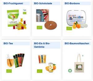 Bio-Werbeartikel - www.werbung-schenken.de